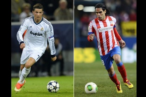 Real Madrid vs. Atltico de Madrid en imgenes