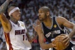 Spurs pegan primero en final de la NBA contra el Heat