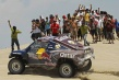 Al-Attiyah se lleva la cuarta etapa y Peterhansel mantiene el liderato en el Dakar 2013.