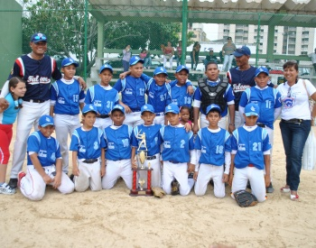 Falcn de Cartagena gan serie nacional pre-infantil de las Pequeas Ligas