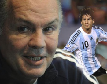 A Messi no hay que hablarle tanto dijo Sabella