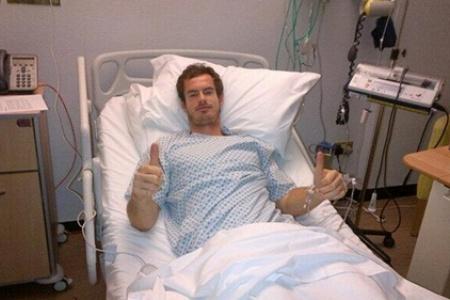 Andy Murray se sometió con éxito a una operación de espalda