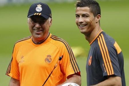 Ancelotti no olvida el daño que le hizo Blatter a Cristiano Ronaldo